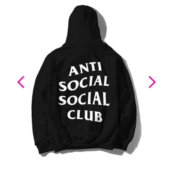 official photos 4504c d700c ASSC Anti Social Social Club hoodie